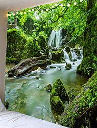 Недорогие -красивый природный лес напечатаны большие гобелены дешевые хиппи на стене богемные гобелены мандала стены искусства декора