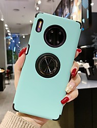 cheap -Case For Huawei Mate 30 / Mate 30 Pro / Mate 30 Lite Shockproof Back Cover Solid Colored TPU / PC