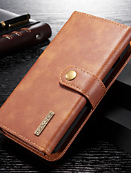 cheap -DG.MING High Quality Business Leather Case For Samsung Galaxy S10 / S9 / S8 / S10 Plus / S9 Plus / S8 Plus Magnetic Flip Wallet Slot Stand Detachable For Samsung Galaxy S10e Cover