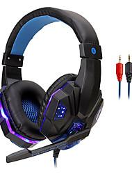 Недорогие -LITBest 830 Игровая гарнитура Проводное С микрофоном С регулятором громкости Игры