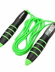 Недорогие -регулируемая скакалка с ЖК-счетчиком калорий, цифровая скакалка для фитнеса