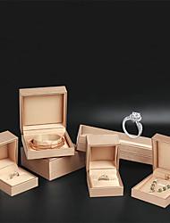 Недорогие -Квадратный Упаковка ювелирных изделий - Золотой, Синий 4 cm 7.5 cm 5.5 cm / Жен.
