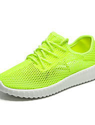 cheap -Women's / Unisex Trainers / Athletic Shoes 2020 Flat Heel Round Toe Mesh Sporty / Minimalism Cycling Shoes / Walking Shoes Summer / Spring & Summer Peach / Light Grey / Green