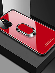 cheap -Tempered Glass Ring Magnet Holder Case For Apple iphone 11 Pro Max XR XS Max X 8 Plus 7 Plus 6 Plus Soft Frame Stand Back Cover