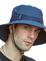 cheap -Hiking Hat Fishing Hat Fisherman Hat Hat 1 PCS Portable Sunscreen UV Resistant Breathable Floral / Botanical Cotton Autumn / Fall Spring Summer for Men's Women's Camping / Hiking Hunting Fishing Dark
