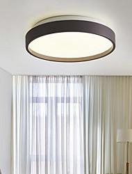cheap -35 cm Geometric Shapes Flush Mount Lights Metal Acrylic Painted Finishes LED / Nordic Style 110-120V / 220-240V