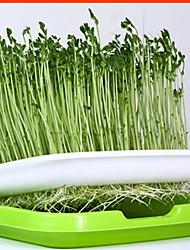 Недорогие -5 шт. Стоимость пакета ростки питомник лоток ростки фасоли росток горшечные посадки оборудование для выращивания без почвы гидропонное овощи домашние посадки овощей артефакт