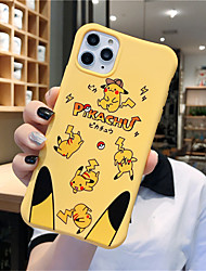 cheap -Case For Apple iPhone 11 11 Pro 11 Pro Max Grand Pikachu pattern TPU material Painting process Four corners drop proof Xiaoman waist scratch proof phone case