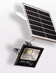 Недорогие -1шт 25 W LED прожекторы Дистанционно управляемый / Солнечная батарея / Управление освещением Тёплый белый 5.5 V Уличное освещение 300 Светодиодные бусины