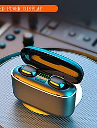 Недорогие -imosi 3500mAh светодиодные беспроводные наушники Bluetooth наушники наушники TWS сенсорное управление спортивная гарнитура шумоподавления водонепроницаемый