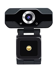 cheap -ESCAM PVR006 HD 1080P Webcam 2 mp USB2.0 Web Camera Wide Compatibility Auto Focus Computer Laptop Webcams Camera  90° Degree Wide Angle Business Conference Webcam With Noise Reduction Microphone