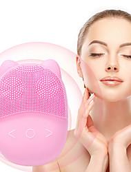 Недорогие -Прекрасное милое животное форма осьминога силикон для лица моющее средство для лица щетка для чистки глубоких пор очиститель пор отшелушивающий крем для ухода за кожей
