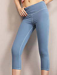 cheap -Women's Sporty Active Slim Chinos Sweatpants Pants - Solid Colored Classic Sporty High Waist Black Blue Blushing Pink S / M / L