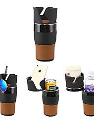 Недорогие -Ziqiao универсальный многофункциональный автомобильный держатель чашки вращающийся удобный дизайн мобильного телефона напиток солнцезащитные очки держатель напитка аксессуары