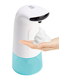 cheap -250ml Soap Dispenser Automatic Induction Free Pressing Infrared Sensing Intelligent Soap Dispenser for Kitchen Bathroom Batteries Not Included
