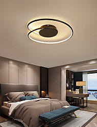 cheap -43 cm Line Design Flush Mount Lights Metal Modern Style Painted Finishes LED Modern 110-120V 220-240V