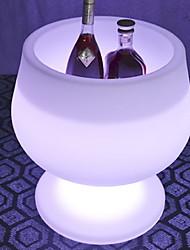 Недорогие -крутой двигатель пульт дистанционного управления зарядка бар цветочный горшок из светодиодов свет творческой формы чашки в форме цветочный горшок винная бочка из светодиодов светоизлучающих мебель