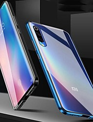 cheap -Magnetic Case for Redmi Note 9S / Note 9 Pro/Mi Note 10 Magenetic Adsorption Double Sided Case Transparent Tempered Glass / Case For Redmi 8A / Note 8 Pro /K20 Pro/ Mi 9 SE