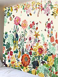 Недорогие -красивый цветок клумбы гобелен или фон ткани или декоративные ткани