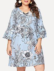 Недорогие -полосатая рубашка женщины плиссированные листья лотоса маятник рукав v-образным вырезом полосатая рубашка куклы дамы досуг топы