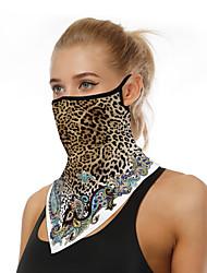 Недорогие -Муж. / Жен. 3D принт Треугольный платок С принтом / Леопард
