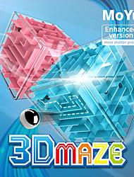 cheap -Maze 3D Maze Puzzle Box Matte Sticker Plastics For Kid's Adults' Unisex Boys' Girls'