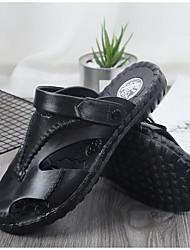 cheap -Men's PVC Summer Sandals Non-slipping Brown / Black