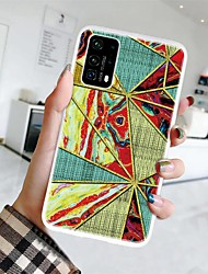 cheap -Case For Huawei P Smart 2019/Honor 8A/Y7 2019 Ultra-thin / Frosted / Pattern Back Cover Geometric Pattern / Marble TPU For Huawei P Smart Z/Y6 2019/Honor 8X/20/20 Pro/9x/9x Pro/P40 Pro