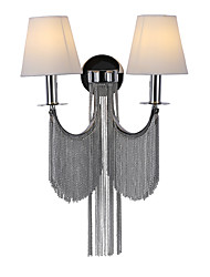 cheap -Stream Nordic Style Wall Lamps & Sconces Dining Room / Shops / Cafes Aluminum Wall Light IP20 110-120V / 220-240V 40 W E12/E14 Bulb Not Included