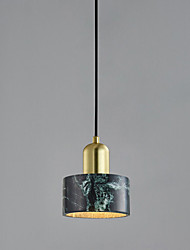 cheap -15 cm Single Design Pendant Light Ceramic Marble Electroplated Nature Inspired / Nordic Style 110-120V / 220-240V
