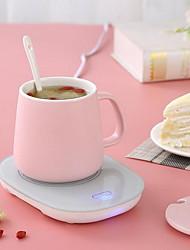 Недорогие -220 В-1 шт. Чашка с подогревом коврик с подогревом коврик для обогрева чай кофе молоко домашний офис кружка с подогревом