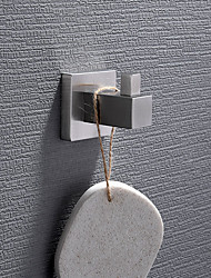 cheap -Robe Hook New Design / Creative Contemporary / Modern Stainless Steel / Low-carbon Steel / Metal 1pc - Bathroom Wall Mounted