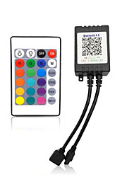 cheap -1pc Remote Controlled 24keys Plastic Controller for RGB LED Strip Light
