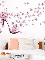 cheap -Floral & Plants Wall Stickers Living Room, Removable PVC Home Decoration Wall Decal 1pc