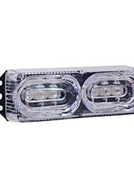 Недорогие -2 Вт / 9-80 В / шт. Из алюминиевого сплава материал / красный и синий мигающий задний фонарь мотоцикла