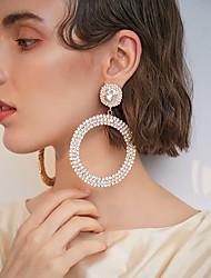 cheap -Women's Drop Earrings Dangle Earrings Vintage Style Statement Luxury Romantic Fashion European Imitation Diamond Earrings Jewelry Silver / Gold For Street Formal Prom Date Festival