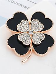 Недорогие -броши из циркония женские классические бабочки стильные простые классические брошь ювелирные изделия фиолетовый синий для вечеринки подарок повседневная работа фестиваль