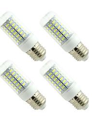 cheap -4PCS E27 E14 LED Lamp LED Bulb SMD5730 Corn Bulb 69LEDs Chandelier Candle LED Light For Home Decoration Ampoule  220V or 110V
