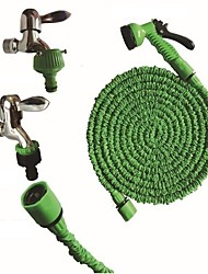 cheap -125FT New Magic Flexible Garden Hose Expandable Watering Hose With Plastic Hoses Telescopic Pipe With Spray Gun To Watering