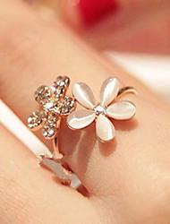 cheap -Ring Gold Alloy Elegant Holiday European 1pc Adjustable / Women's