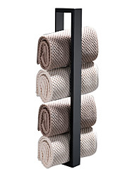 cheap -Towel Bar New Design / Self-adhesive / Creative Contemporary / Modern Stainless Steel + A Grade ABS / Stainless Steel 1pc - Bathroom 1-Towel Bar