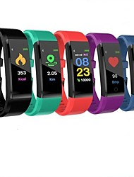 cheap -ID115 PLUS Smart Wristband Bluetooth Fitness Tracker Support Notify/ Heart Rate Monitor Waterproof Sports Smartwatch Compitable Samsung/ Iphone/ Android Phones