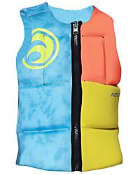 Недорогие -HISEA® Спасательный жилет Легкость Меньше трения Неопрен Плавание Серфинг катание на лодках Спасательный жилет для Взрослые