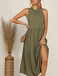 cheap -Women's Sleeveless Maxi Dress