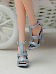 cheap -11-Inch Doll Shoes And High-Heeled Shoes Jewelry Accessories Fashion Fantasy Children'S Play Dress Up Toys, Paragraph B