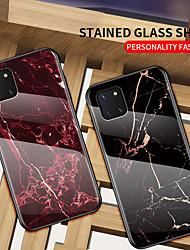 Недорогие -Роскошный мраморный корпус из закаленного стекла для Samsung Galaxy A51 A81 A71 A91 A41 A21 A11 A01 A70E A90 5G A80 Противоударная задняя крышка Мягкая защита края ТПУ