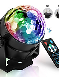 cheap -4W LED Disco E27 Stage Light Spherical Sound Control Laser Projector Effect Light For Home Christmas Party Decoration Plug-In Use