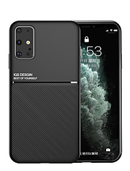 cheap -Samsung S20Plus Mo Wenpi Skin Built-in Invisible Magnetic Suction Car Function Note10Plus Full Silicone Anti-fall S10E Protective Shell