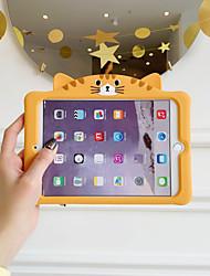 cheap -Case For Apple iPad Air / iPad 4/3/2 / iPad Mini 3/2/1 Shockproof Back Cover Cartoon TPU
