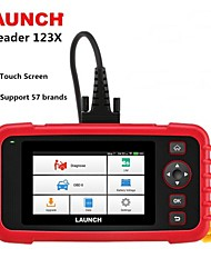 cheap -Launch X431 CRP123X OBD2 Code Reader Creader 123X Car Scanner ENG ABS SRS Transmission Car Diagnostic Tool Free Update pk CRP123